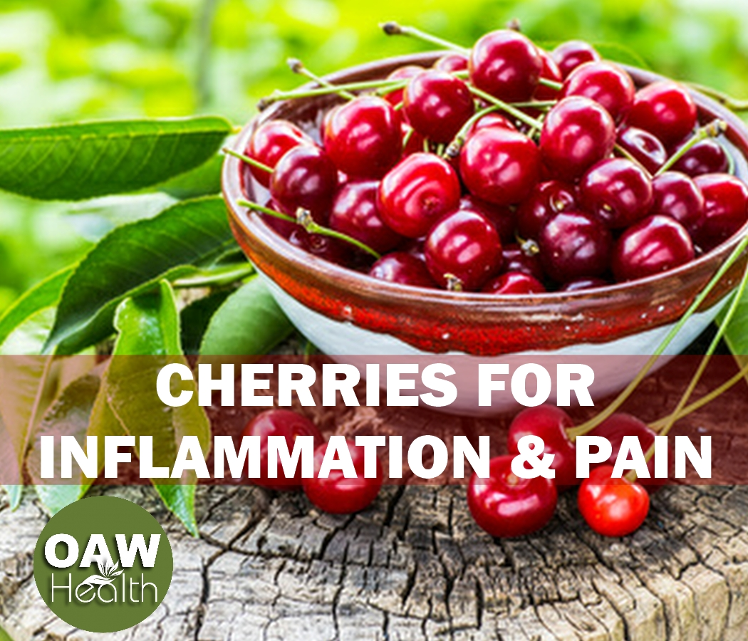 Cherries for Inflammation and Pain