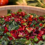 Beautiful Beet Salad with Cherry Tomato Dressing