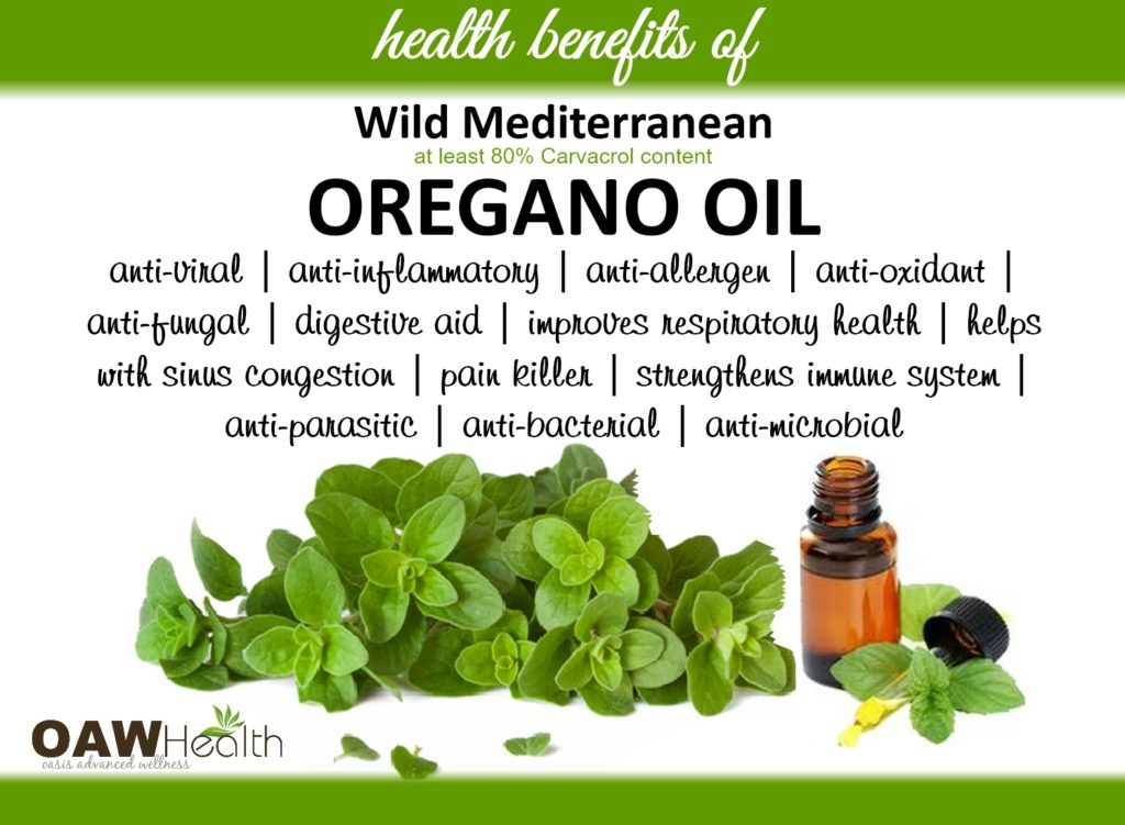 oregano oil-health benefits