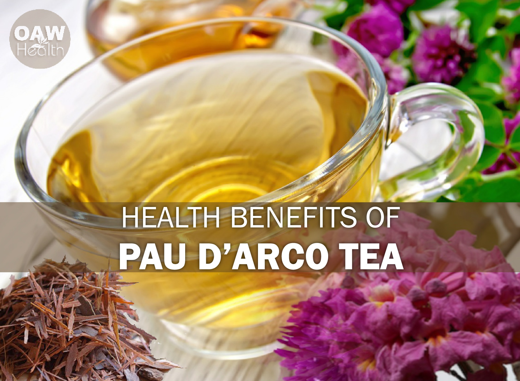 Important Health Benefits of Pau d'Arco Tea
