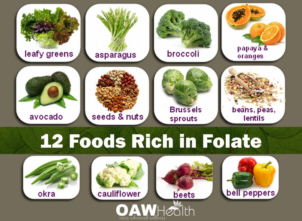 12 foods rich in folate