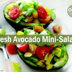 avocado mini salad