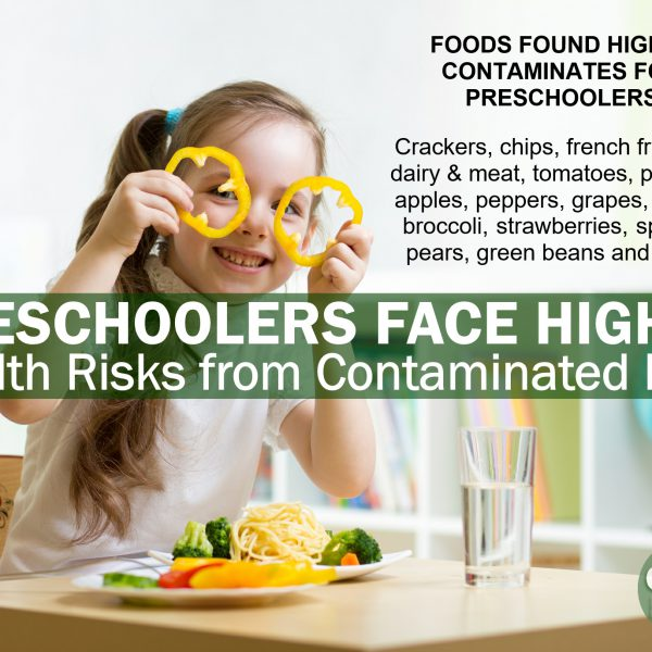 New Research Indicates Pre-Schoolers Face Higher Health Risks from Contaminants in Food