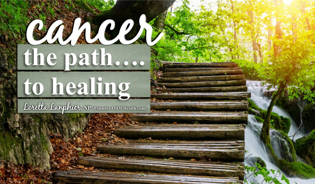 Cancer the path to healing - web banner - 2016