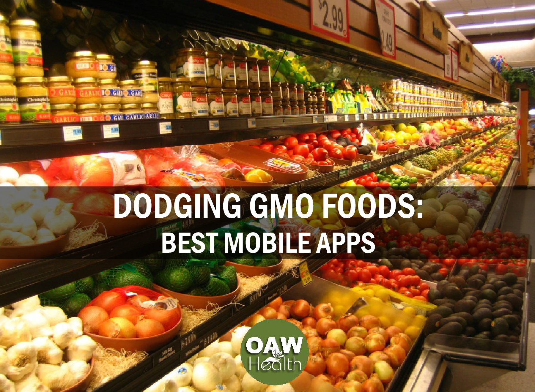 Dodging GMO Foods – Best 12 Mobile Apps