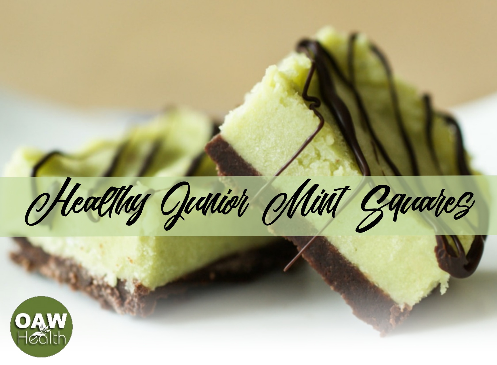 Healthy Junior Mint Squares