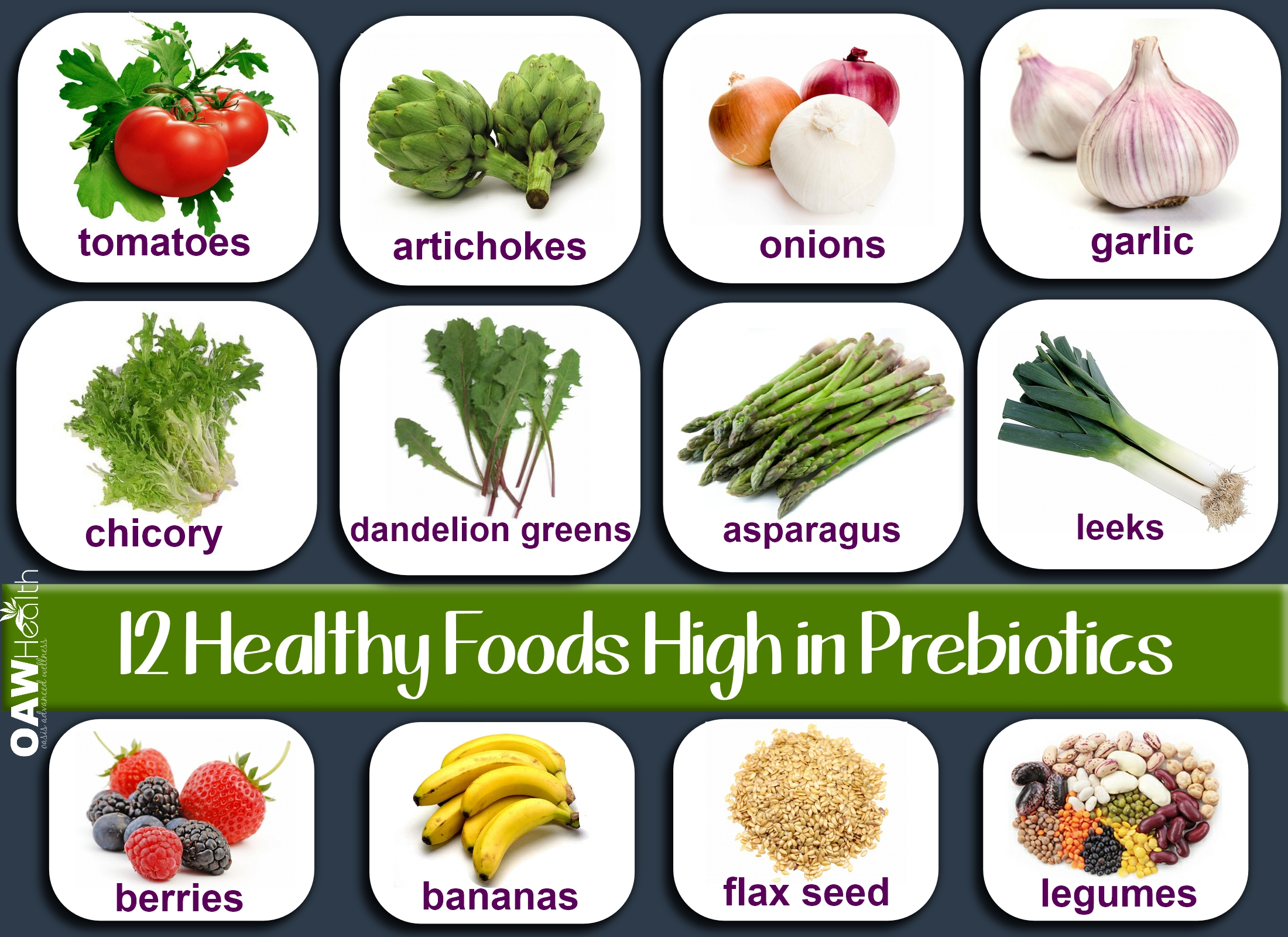 12 Healthy Foods High in Prebiotics