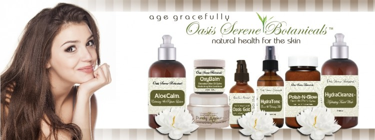 Oasis Serene Botanicals Natural Skin Care