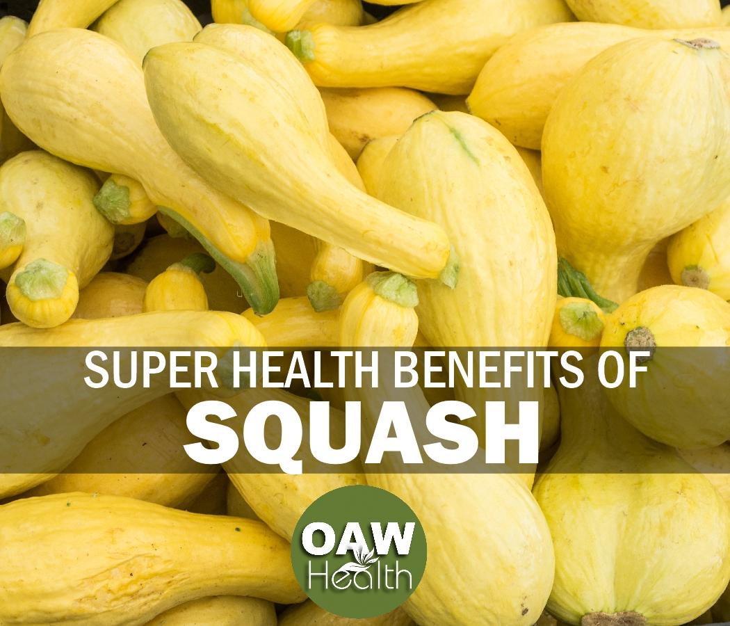 Super Health Benefits of Squash