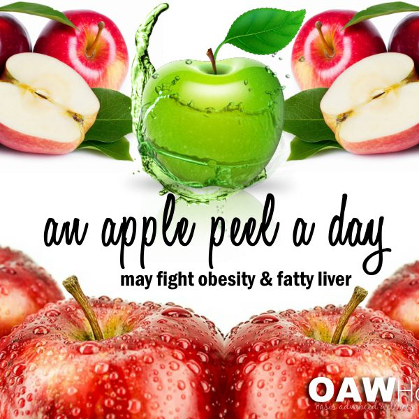 An Apple Peel a Day May Fight Obesity and Fatty Liver