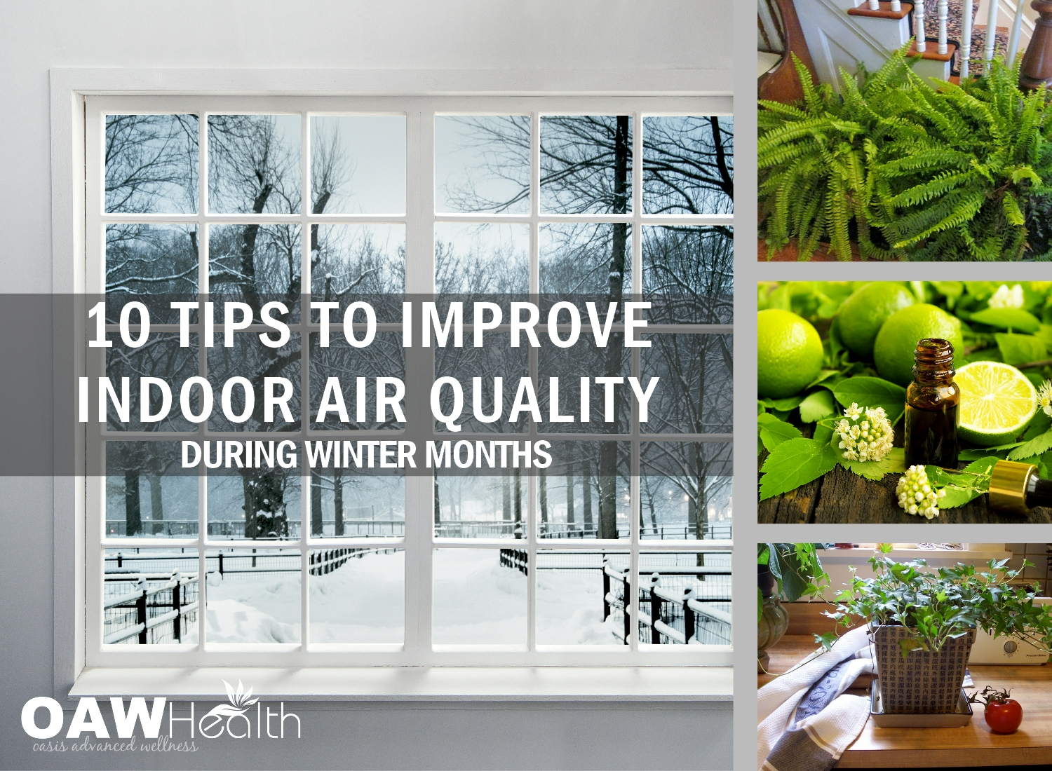 10 Tips to Improve Indoor Air Quality During Winter Months