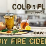 diy fire cider for cold and flu