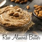 raw almond butter recipe