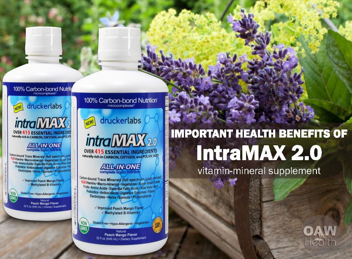11 Health Benefits of intraMax® 2.0 Multi-Vitamin Supplement