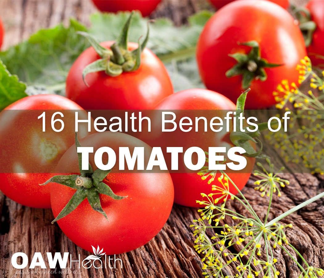 16 Health Benefits of Tomatoes