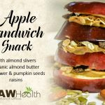 apple sandwich snack