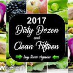 2017 Dirty Dozen-Clean Fifteen