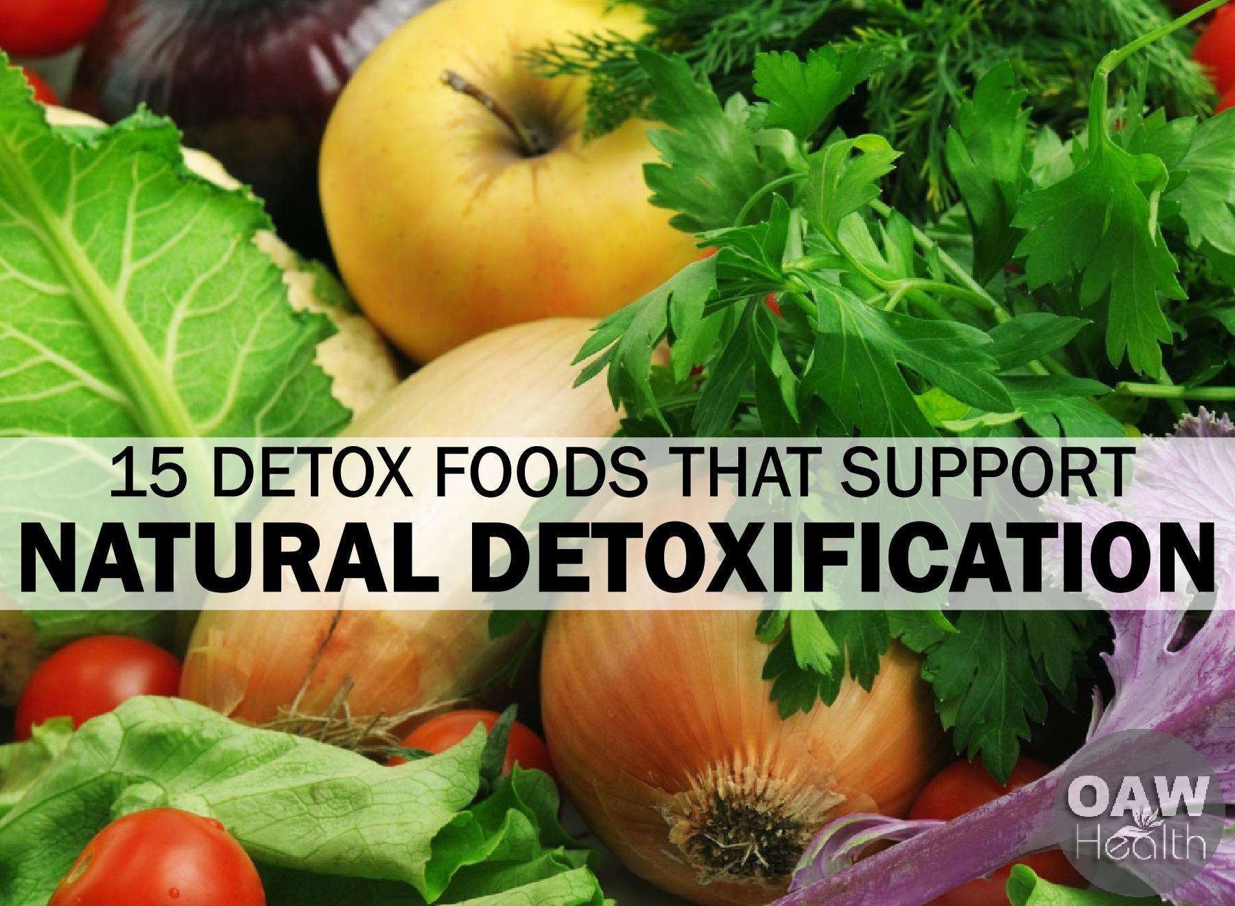 15 Detox Foods That Support Natural Detoxification