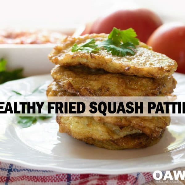 Healthy Fried Squash Patties