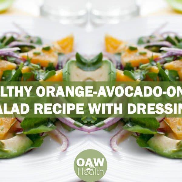 Healthy Orange-Avocado-Onion Salad Recipe