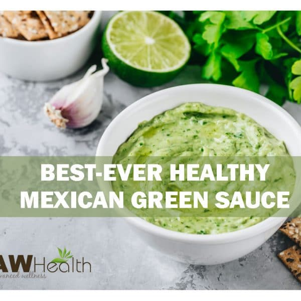 Best-Ever Healthy Mexican Green Sauce